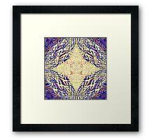Woven Loup-Guru Framed Print