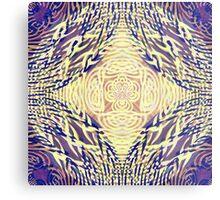 Woven Loup-Guru Metal Print