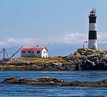 Seal Rocks Lighthouse, Canada by Jennifer Bailey
