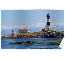 Seal Rocks Lighthouse, Canada Poster