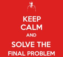 Keep Calm And Solve The Final Problem by Steelbound