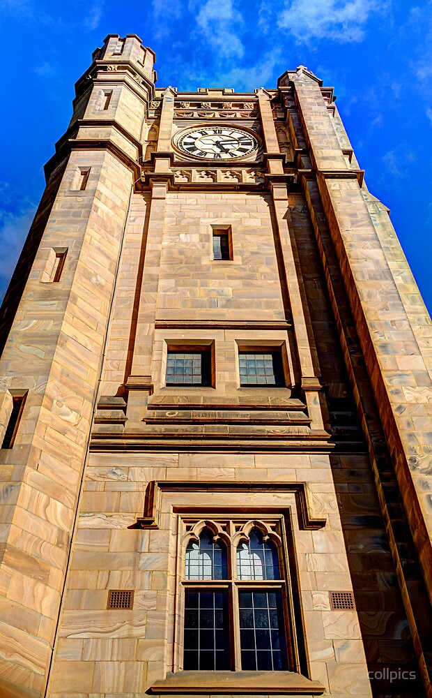 Clock tower by collpics