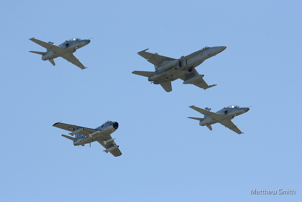 76 squadron 70th anniversary formation flypast by Matthew Smith