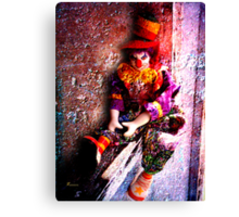 GHETTO CLOWN 2 Canvas Print