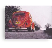 Red Oxo Canvas Print
