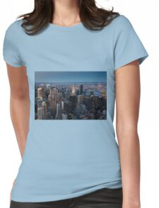 Skyscrapers, New York, USA  Womens Fitted T-Shirt
