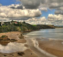 Tenby Giltar Rock to Monkstone Point by griffin