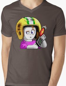 Commander Keen HD - Retro DOS game fan items Mens V-Neck T-Shirt