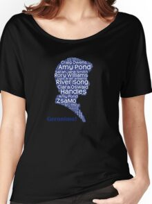 Geronimo, 11th Doctor, Doctor Who Women's Relaxed Fit T-Shirt
