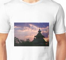 dome mosques in silhouette  Unisex T-Shirt