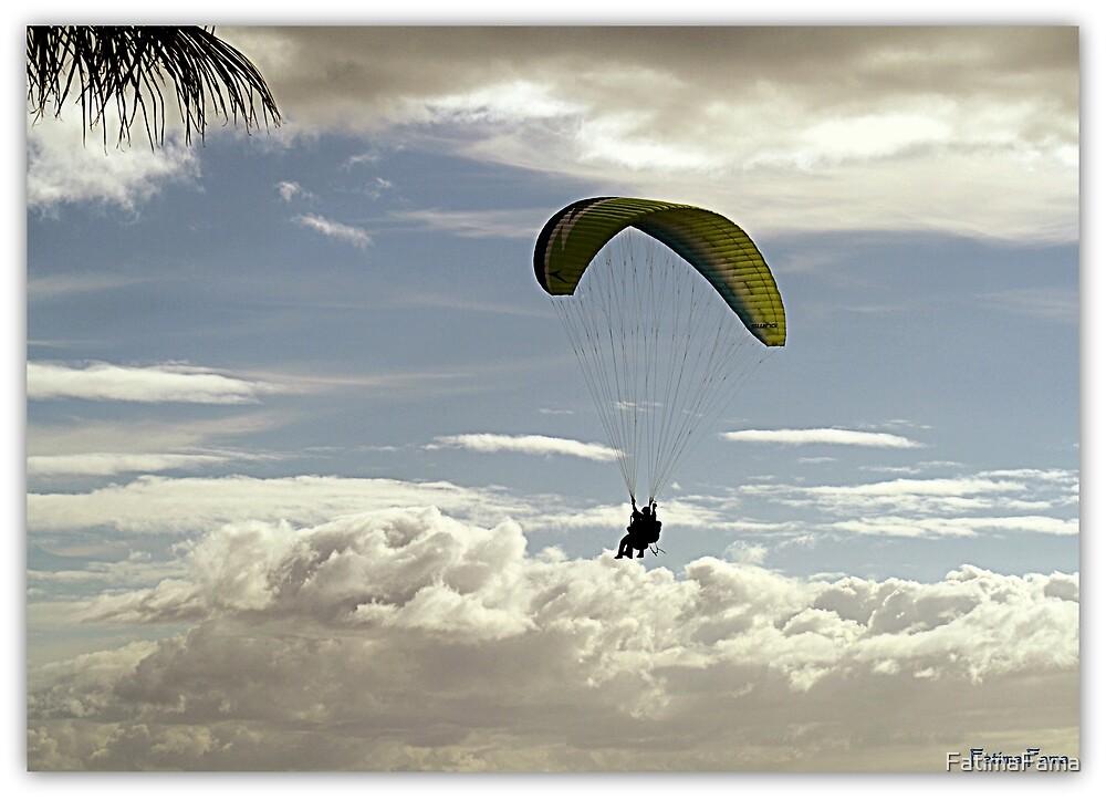 Flying like a bird by FatimaFama