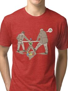 "the ""next-man"" Tri-blend T-Shirt"