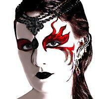 dragon lady by KERES Jasminka