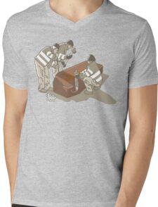 vampire hunters Mens V-Neck T-Shirt