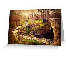 The Aqueduct at Chockoyotte Creek Greeting Card