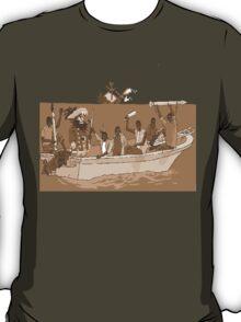 a big shot for the new-school pixel-pirates T-Shirt