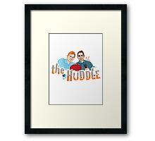 The Huddle Framed Print