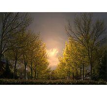 Early morning in Edegem - Belgium Photographic Print