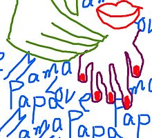 Papa love Mama by Fathers