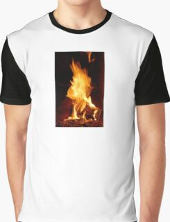 fire flame  Graphic T-Shirt