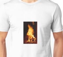 fire flame  Unisex T-Shirt