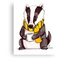 Badger House Mascot Canvas Print