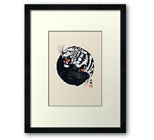 Tachi Tiger Framed Print