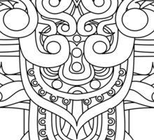Balinese art Sticker