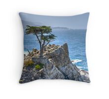 Lonely Cypress Throw Pillow