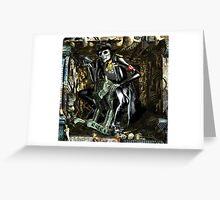 Ecce Homo 122 - The new Horsemen of the funny Apocolypse (WAR) Greeting Card