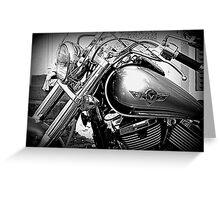 Kawasaki Vulcan Motorcycle © Greeting Card
