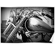 Kawasaki Vulcan Motorcycle © Poster
