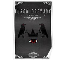 Euron Greyjoy Personal Sigil Poster
