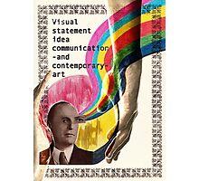 Visual Statement Photographic Print