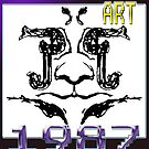 Upside-Down Drawing and Masg Art by influential designer L. R. Emerson II. by L R Emerson II