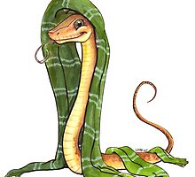Snake House Mascot by FiendishArt