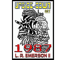 Upside-Down Artwork, Drawing and Masg Art by internationally acclaimed artist L. R. Emerson II.  Photographic Print