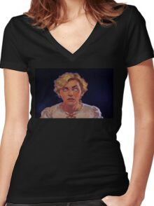 Just Guybrush! (Monkey Island 1) Women's Fitted V-Neck T-Shirt