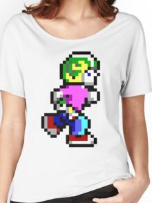 Commander Keen Pixel Style- Retro DOS game fan items! Women's Relaxed Fit T-Shirt