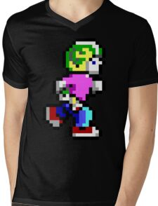 Commander Keen Pixel Style- Retro DOS game fan items! Mens V-Neck T-Shirt