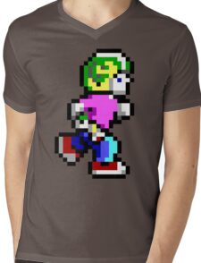 Commander Keen Pixel Style- Retro DOS game fan items! Mens V-Neck T-Shirt