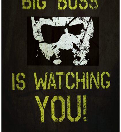 B. B. is watching you! Sticker