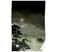 Misty Night Poster