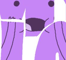 Oh my glob Sticker
