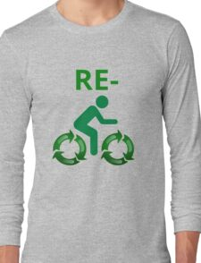 Re-cycle Long Sleeve T-Shirt