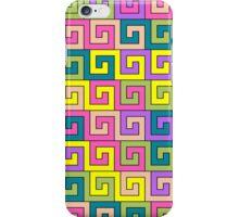 Colorful greek pattern iPhone Case/Skin