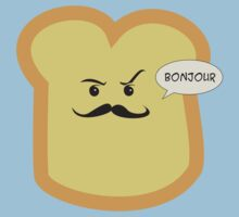 Bonjour French Toast Lover  Kids Tee