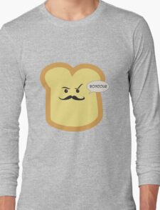 Bonjour French Toast Lover  Long Sleeve T-Shirt