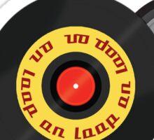 Play Music On Loop Sticker