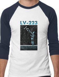 LV-223 INVITATION Men's Baseball ¾ T-Shirt